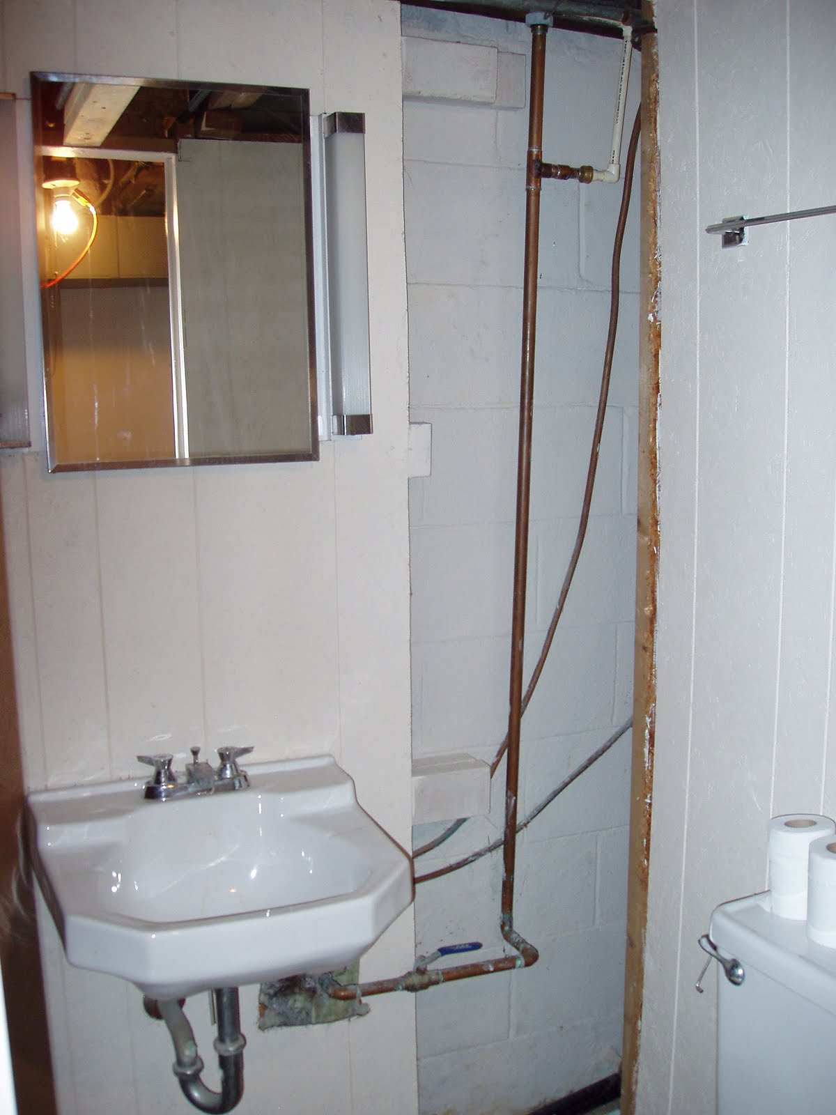 was looking at houses this bathroom was actually considered a bathroom i dont know about the rest of you but would you even wash your hands in there