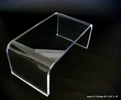 6. Lucite Coffee Table ...