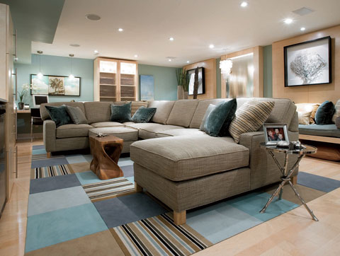 A little inspiration for my basement laurie jones home for Devine home designs