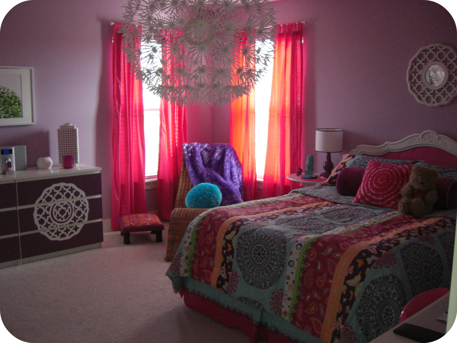 bright bohemian tween room resource list laurie jones home. Black Bedroom Furniture Sets. Home Design Ideas