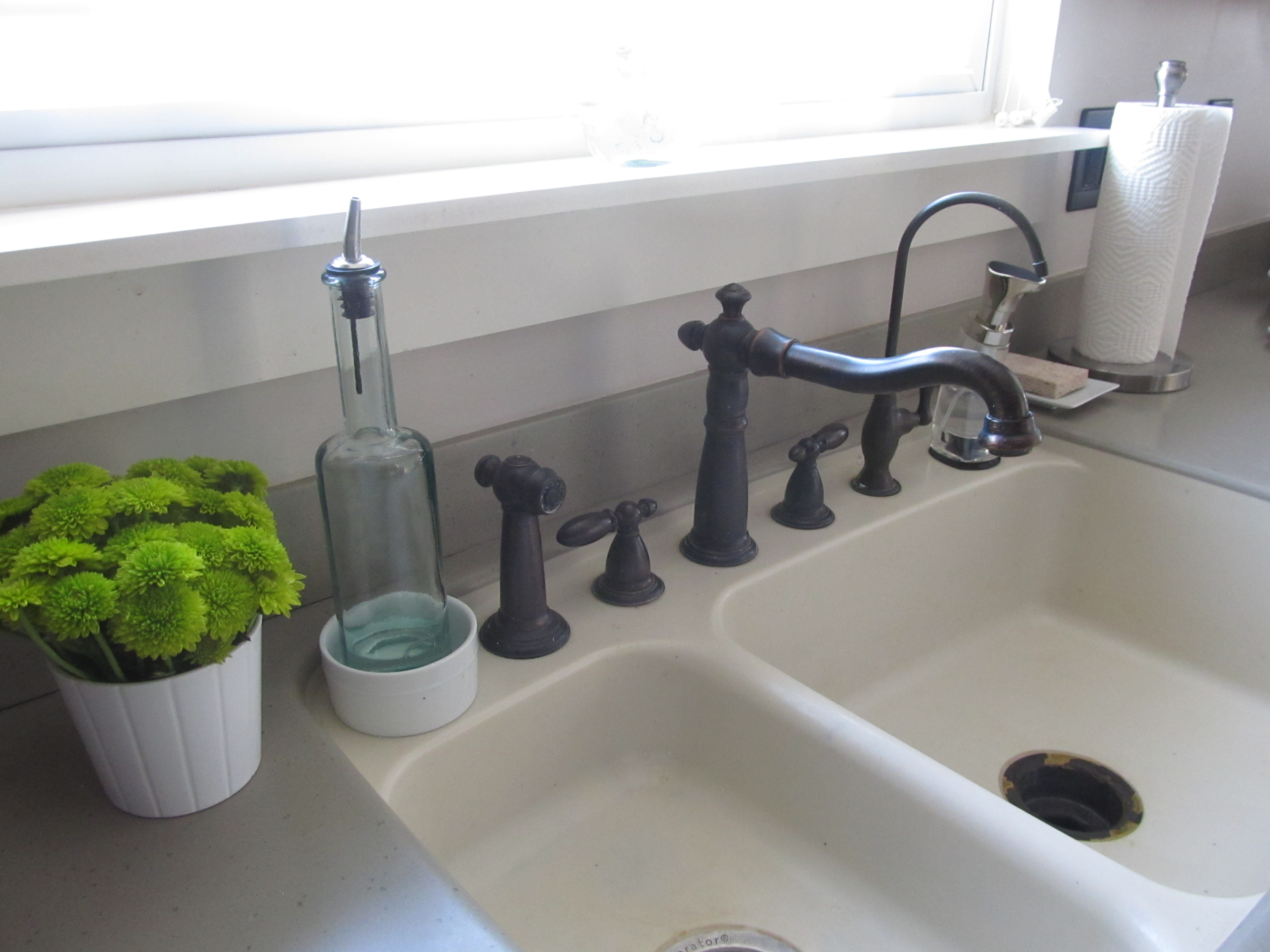 amazing Kitchen Sink Organizers Accessories #7: Organizing the Kitchen Sink