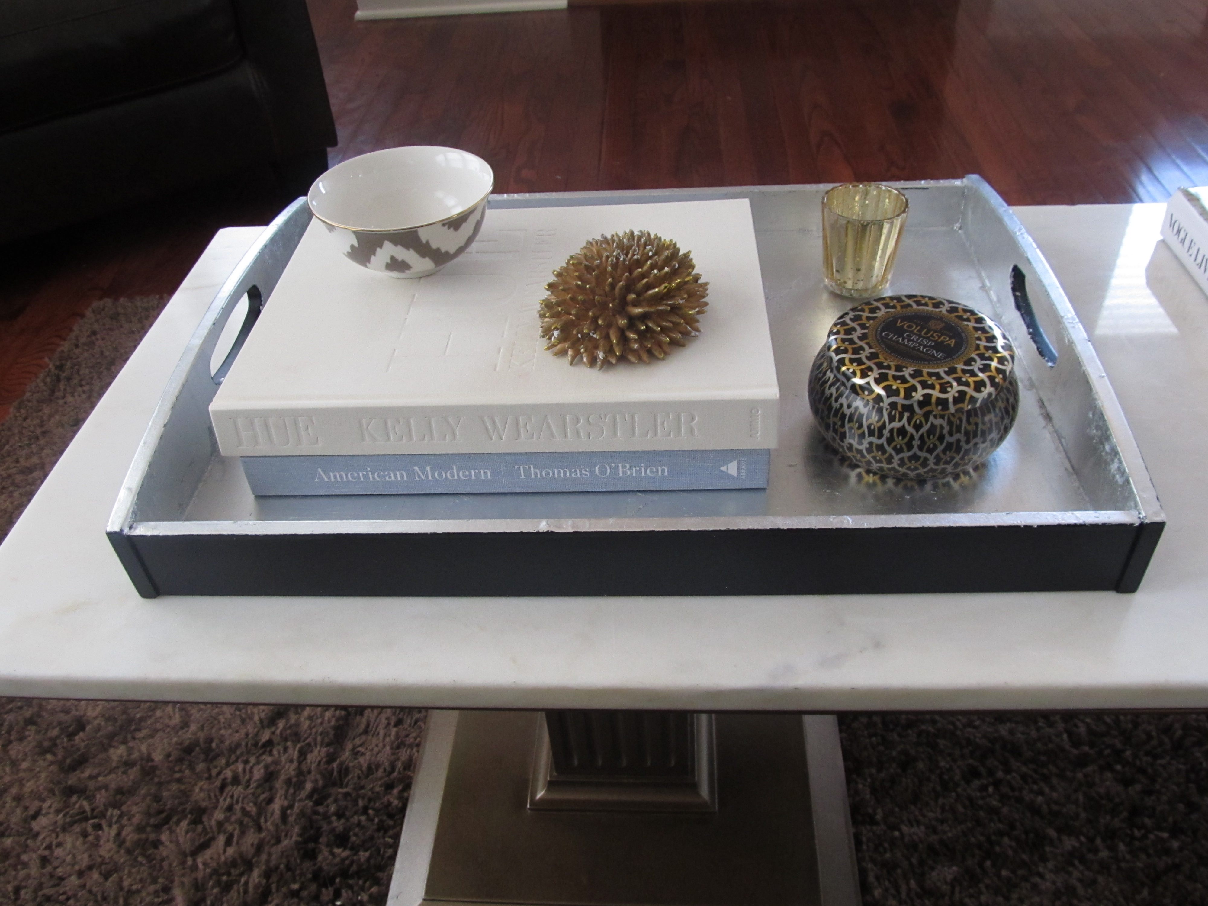 Coffee Table And A Tray Makeover Laurie Jones Home