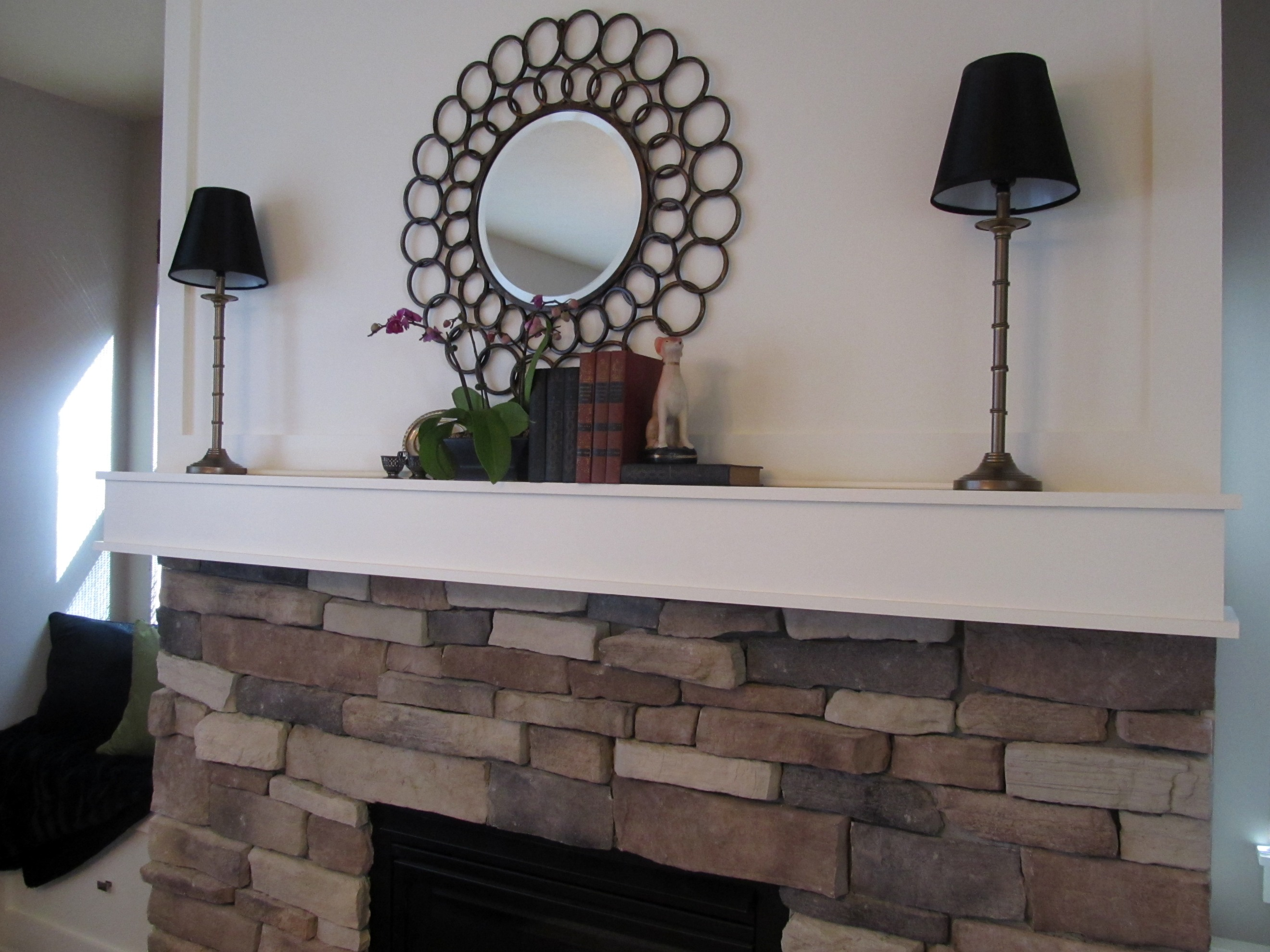 decorating the fireplace mantel laurie jones home