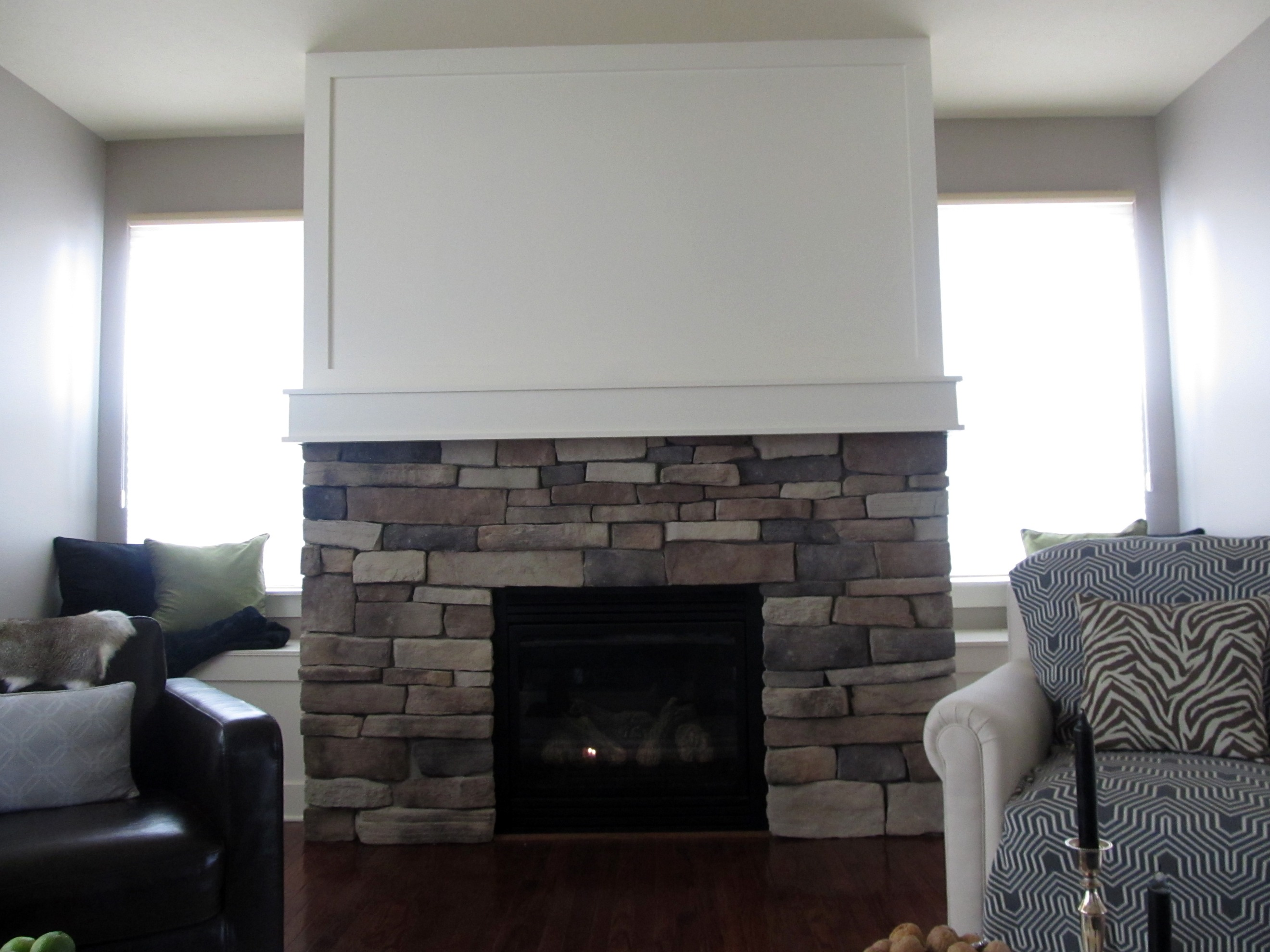 the fireplace reveal laurie jones home